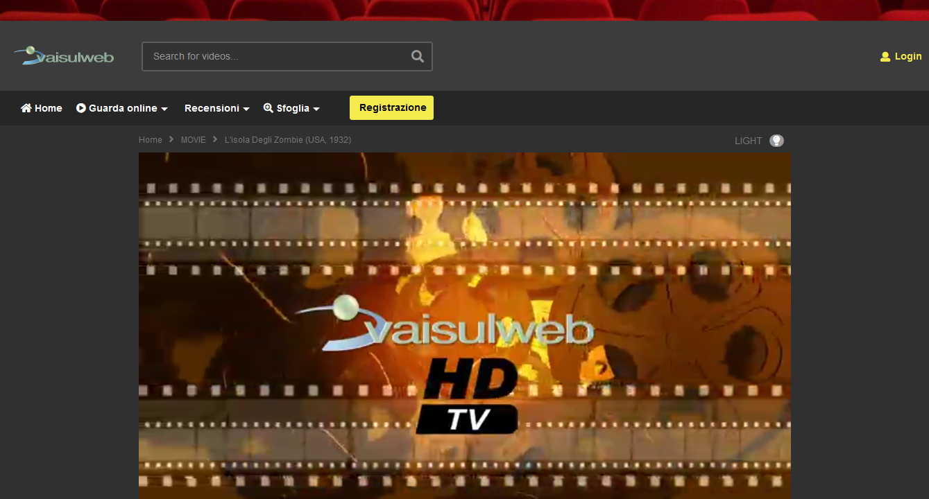 Streaming and transcoding services | VaiSulWeb